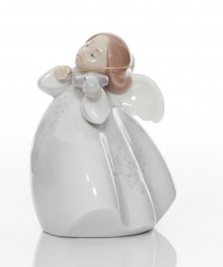 Little Angel with Violin 6529 - Lladro Figurea