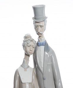 Old Age Couple 1033 - Lladro Figure