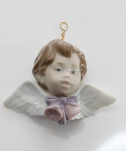 Seraph with Bells Ornament 6342 - Lladro Figure