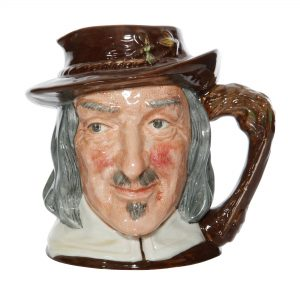 Izaak Walton - Jubilee Backstamp - Large Royal Doulton Character Jug