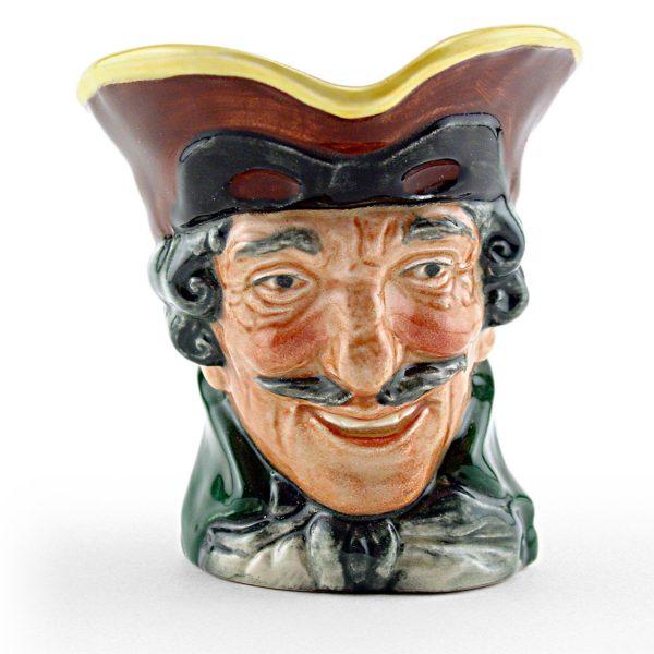 Dick Turpin Pistol Bentalls - Small Royal Doulton Character Jug