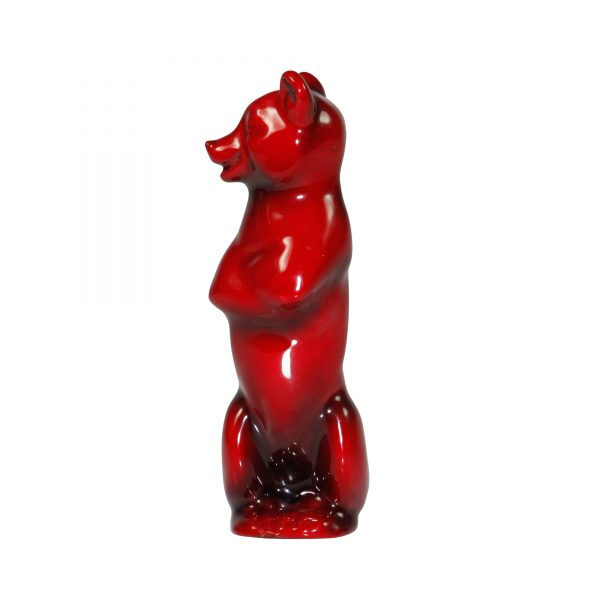 Comic Brown Bear - Royal Doulton Flambe