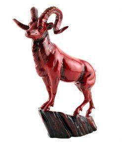 Hebei Goat BA36 - Royal Doulton Flambe