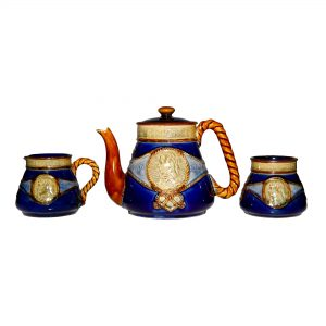 Lord Nelson Teaset 3 pc GRBL - Royal Doulton Stoneware