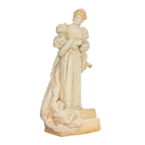 Ellen Terry as Queen Catherine (Vellum) - Royal Doulton Figurine