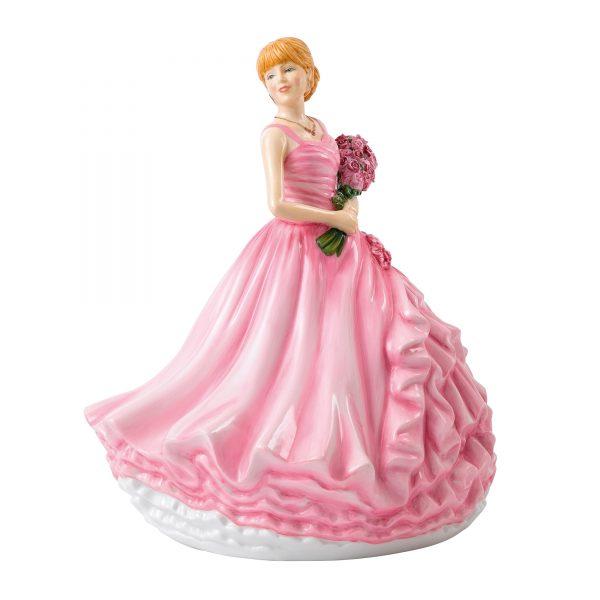 I Love You (Red Rose) - Event Sample HN5837 - Royal Doulton Figurine