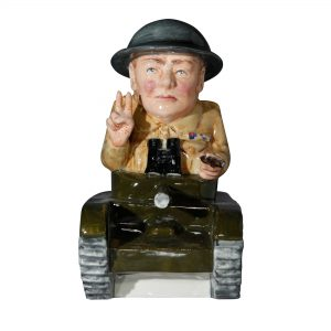 Winston Churchill Army Tank - Bairstow Manor Collectables