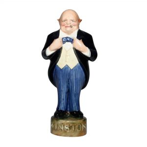 Winston Churchill George Strube - Dark Blue Jacket, blue pants - Bairstow Manor Collectables