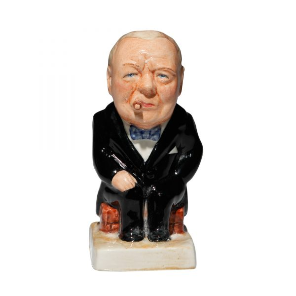 Winston Churchill Toby Jug - (Black jacket and black pants) - Bairstow Manor Collectables