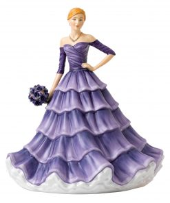 Cherished Frienship Iris HN5881 - Royal Doulton Figurine