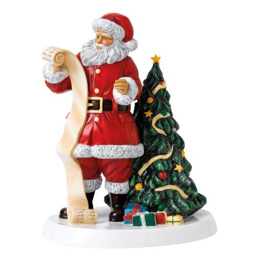Father Christmas 2018 HN5891 - Royal Doulton Figurine