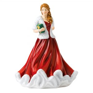 Glad Tidings Petite FOY 2018 HN5892 - Royal Doulton Figurine
