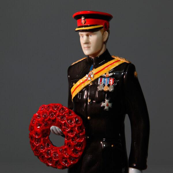 HRH Prince Harry of Wales HN5893 - Royal Doulton Figurine
