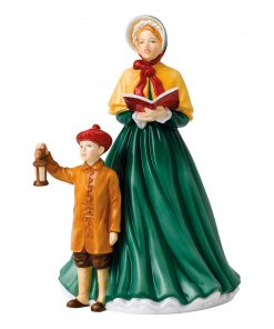 Here We Come A Carolling HN5888 - Royal Doulton Figurine
