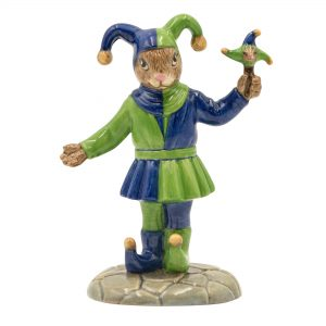 Fair Jester DB517 - Royal Doulton Bunnykins Figurine