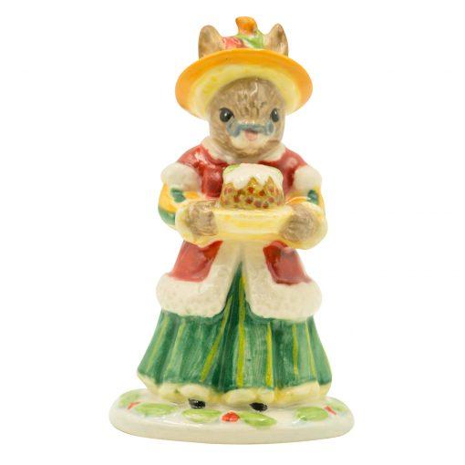 Mother Christmas Mini DB344 - Royal Doulton Bunnykins Figurine