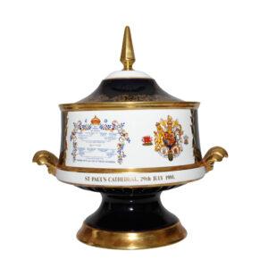 Aynsley DDay Vase with Lid - Commemorative Vase