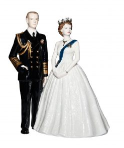 Royal Portrait CW707 - Coalport Figurine