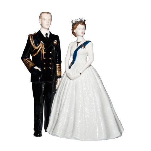Royal Portrait CW707 - Coalport Figurine