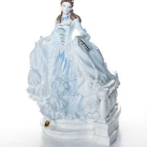 Cinderella - Blue Coloration HN3991B - Royal Doulton Figurine