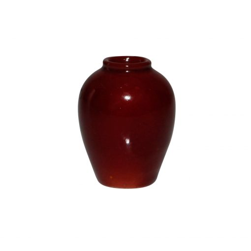 Bernard Moore Vase Mini Red - Royal Doulton Flambe
