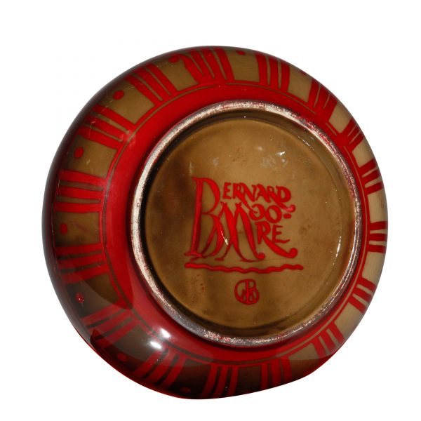 Bernard Moore Vase Tigers - Royal Doulton Flambe