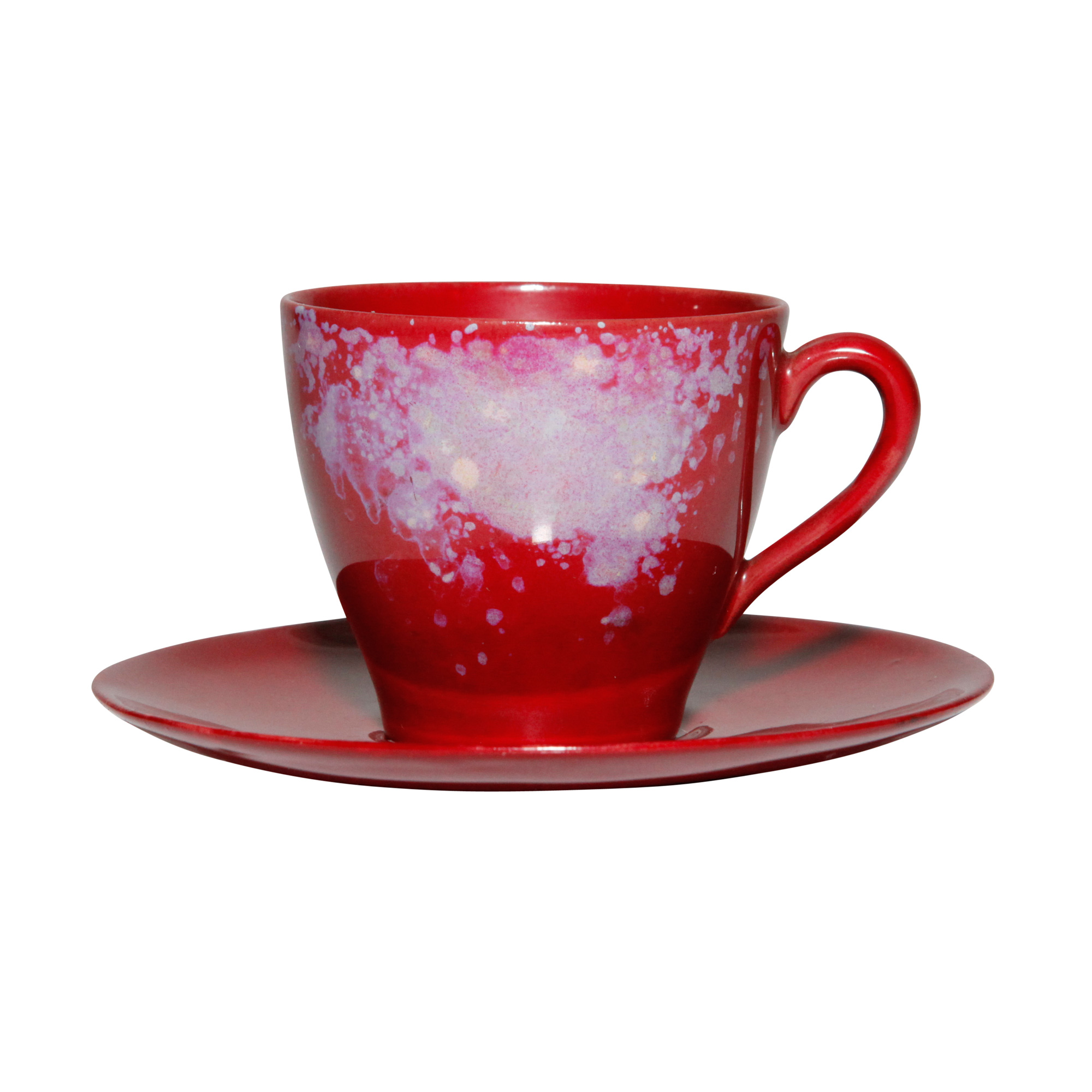 coffee cup and saucer small royal doulton flambe seaway china company. Black Bedroom Furniture Sets. Home Design Ideas