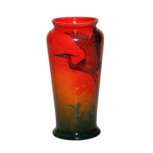 Sung Vase Crane - Royal Doulton Flambe