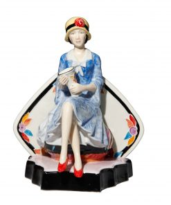 Lovely CV Blue - Peggy Davies Figurine