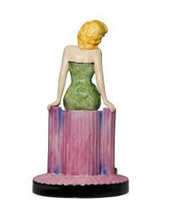 Marilyn Monroe Green - Peggy Davies Figurine