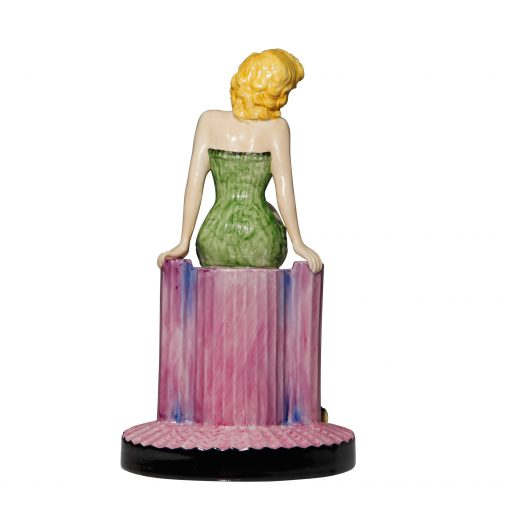 Marilyn Monroe Green - Peggy Davies Figurine