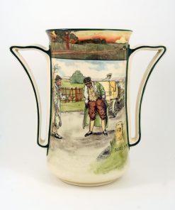 Early Motoring Blood Money Vas - Royal Doulton Seriesware