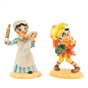 Punch & Judy (Pair) - Royal Doulton Storybook Figure