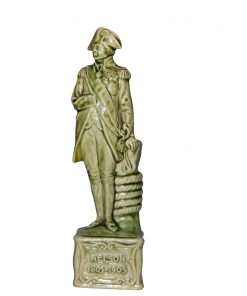 Lord Nelson Figure Green 8H - Royal Doulton Stoneware