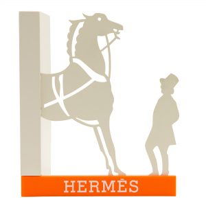 Hermes Bookends Pair