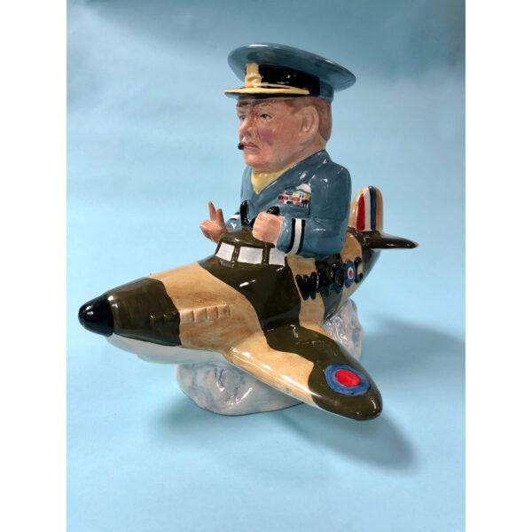 Winston Churchill Plane Spitfire