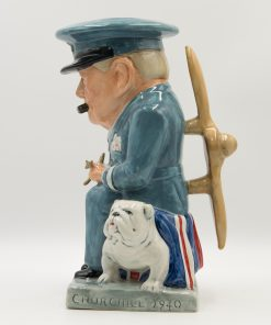Winston Churchill Toby Jug - Air Commander