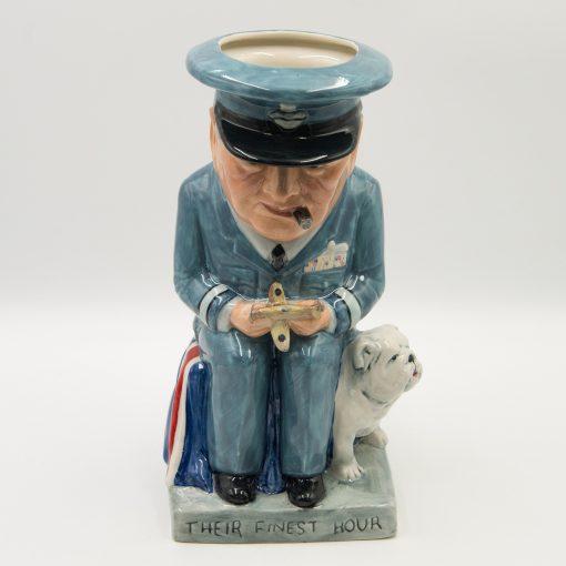 Winston Churchill Toby Jug - Air Commander