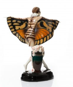 Captured Bird Monarch Wings - Goldscheider Figure