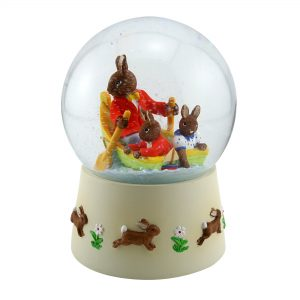 Waterglobe Fun on Water DBGW11 - Bunnykins Giftware