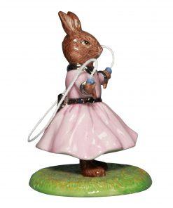 Polly DB484 Platinum - Bunnykins Figurine