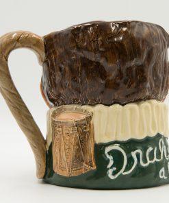 Drake Hatless Green D6115 - Royal Doulton Large Character Jug
