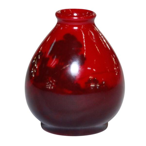 Vase Miniature - Royal Doulton Flambe