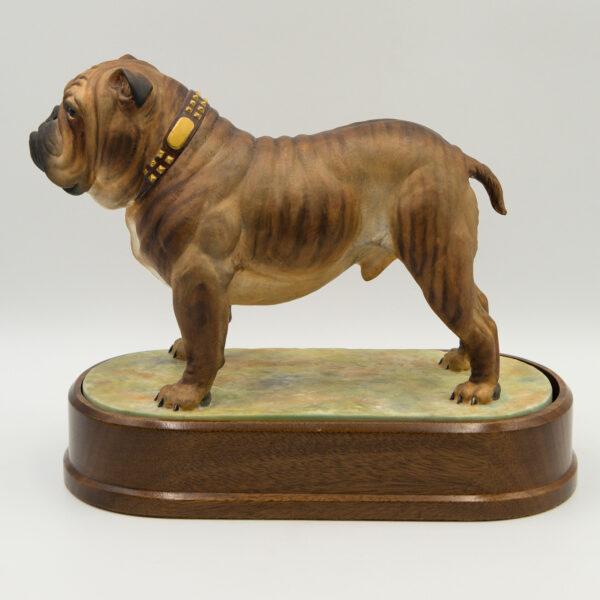 Bulldog Standing (Large) - Royal Worcester Dog