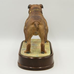 Bulldog Standing (Large) - Royal Worcester Dog
