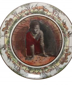 African Charger Zulu Girl - Royal Doulton Seriesware