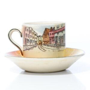 Dickens Demitasse Cup Saucer - Royal Doulton Seriesware