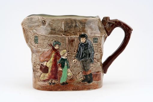 Dickens Old Peggoty Relief Pit - Royal Doulton Seriesware
