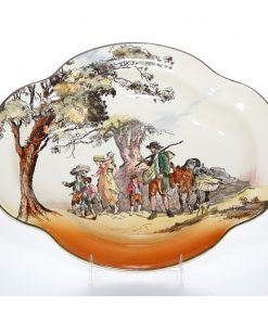 Gleaners Oval Bowl - Royal Doulton Seriesware