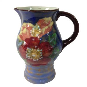 Wild Rose Pitcher Blue 5H - Royal Doulton Seriesware
